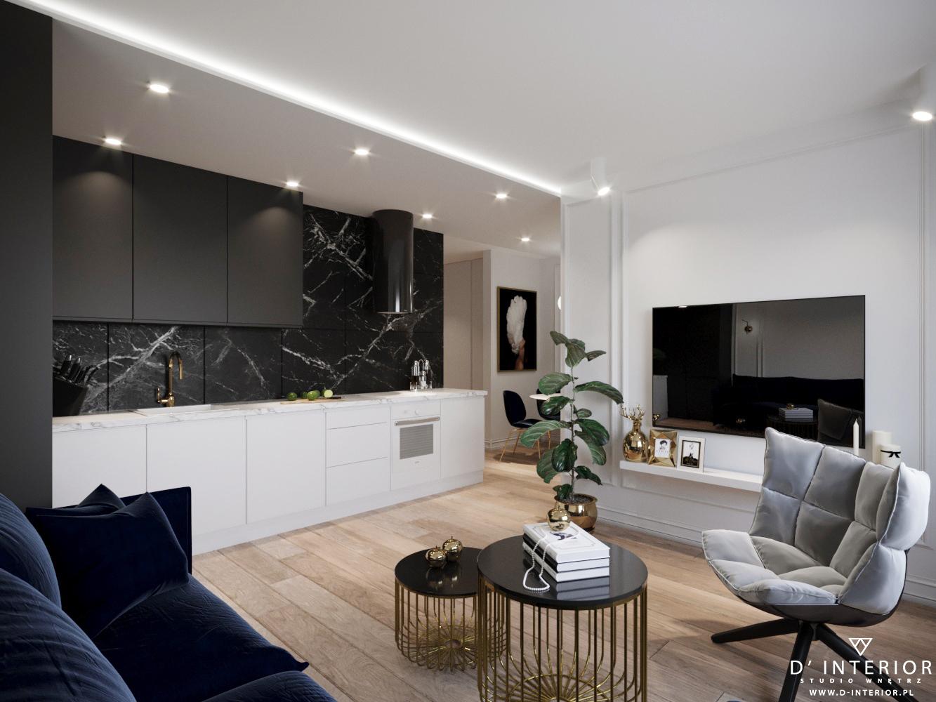Aranzacja apartament Gdynia Redłowo
