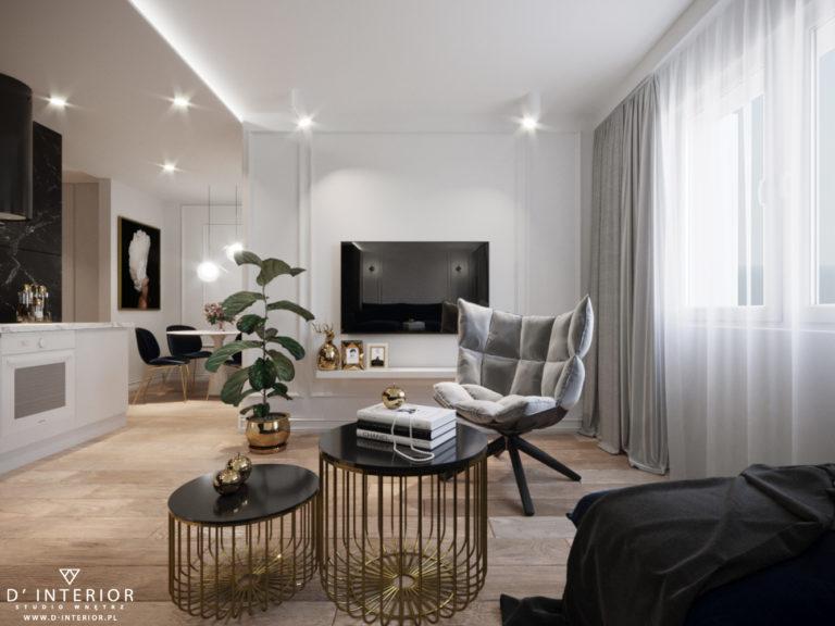 Aranzacja apartamentu Gdynia Redłowo