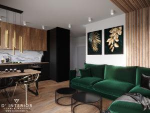 industrialny projekt mieszkania