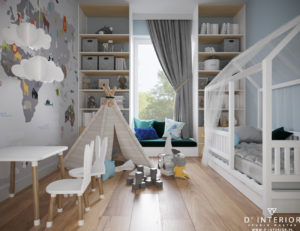 Projekt pokoju dziecięcego Gdańsk