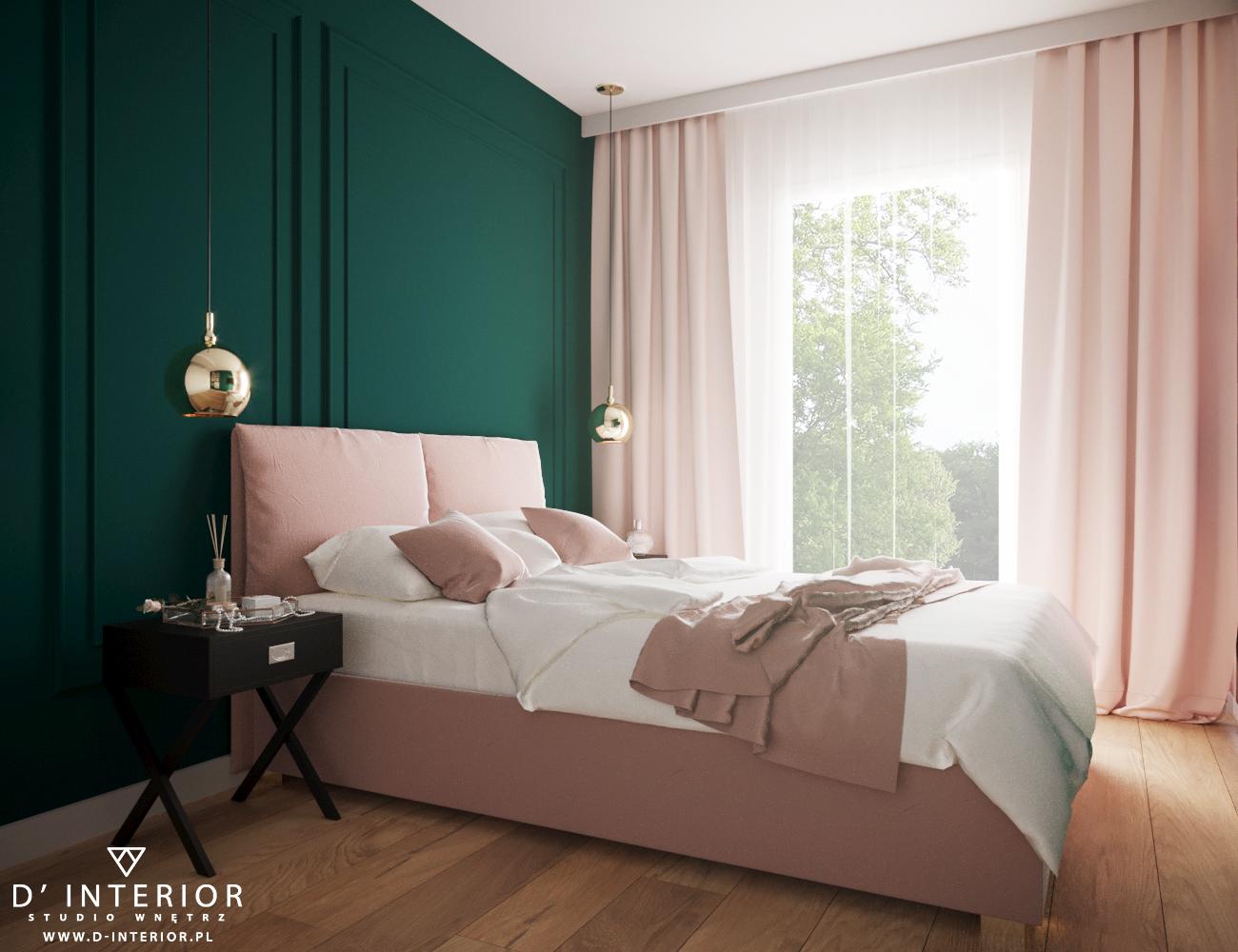 Kobieca sypialnia