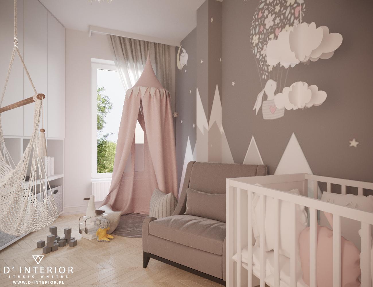 Projekt dziecięco pokoju