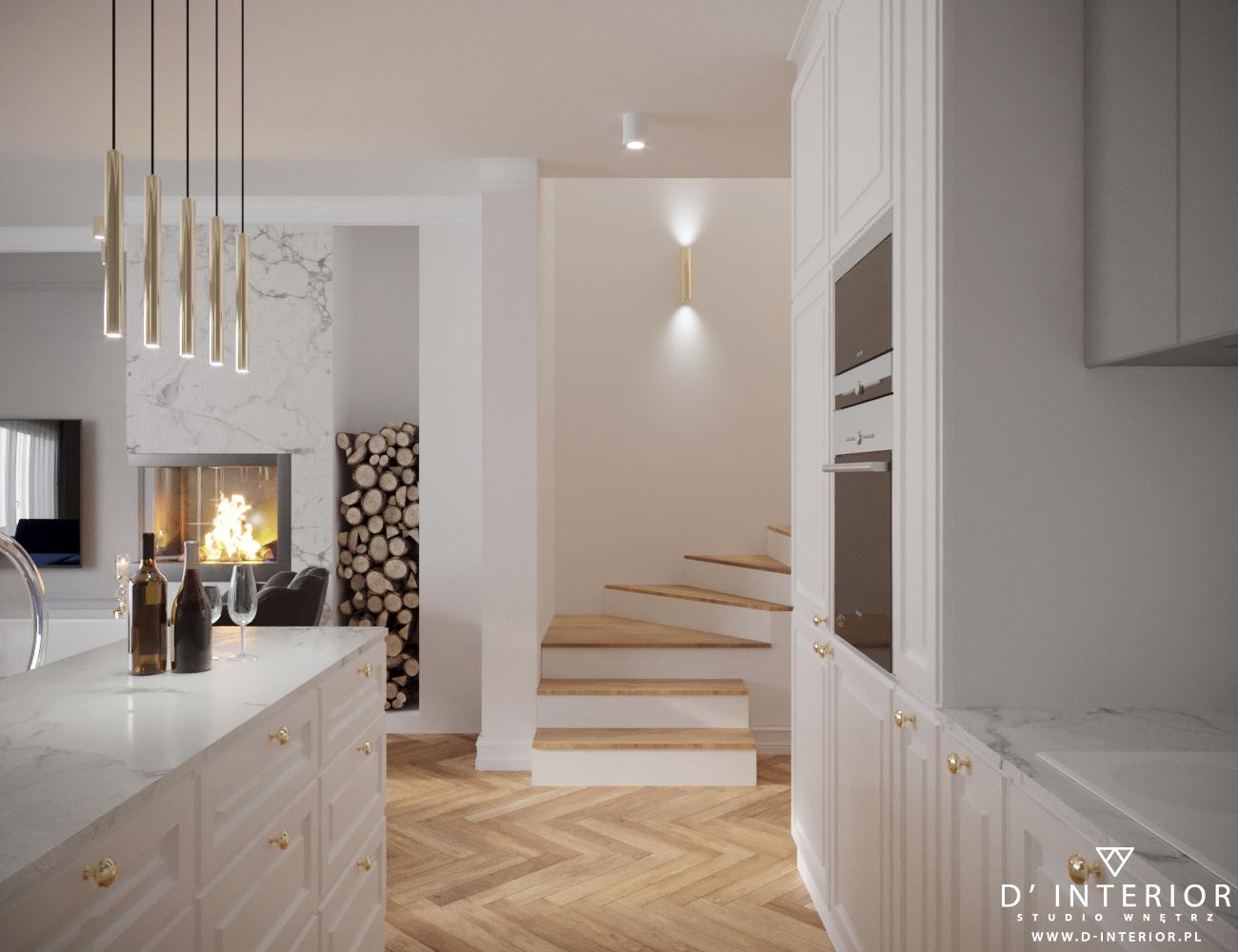 Projekt kuchni w domu