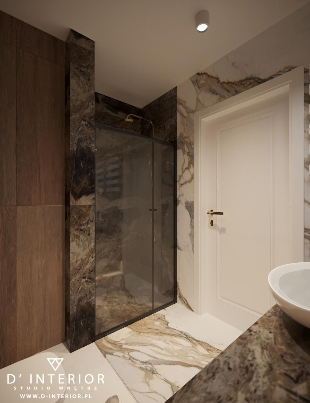 Projekt eleganckiej łazienki