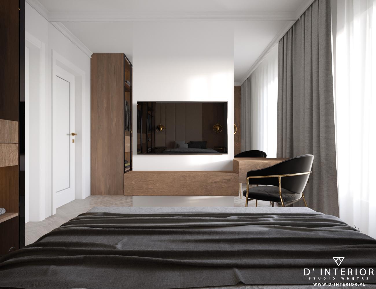 Telewizor w sypialni