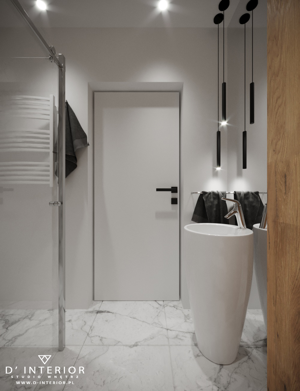 Projekt łazienki w Gdańsku