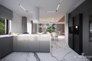 Projekt salonu w Gdyni