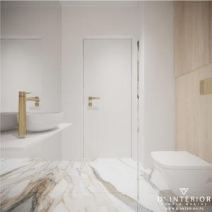Projekt łazienki w jasnych kolorach
