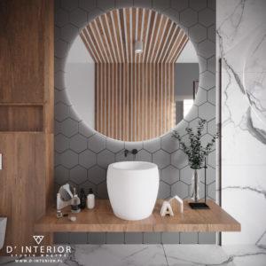 Projekt małej łazienki w domu