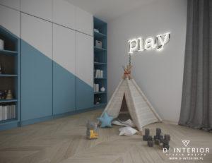 Projekt pokoju dla zabaw