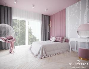 Projekt sypialni dla dziecka