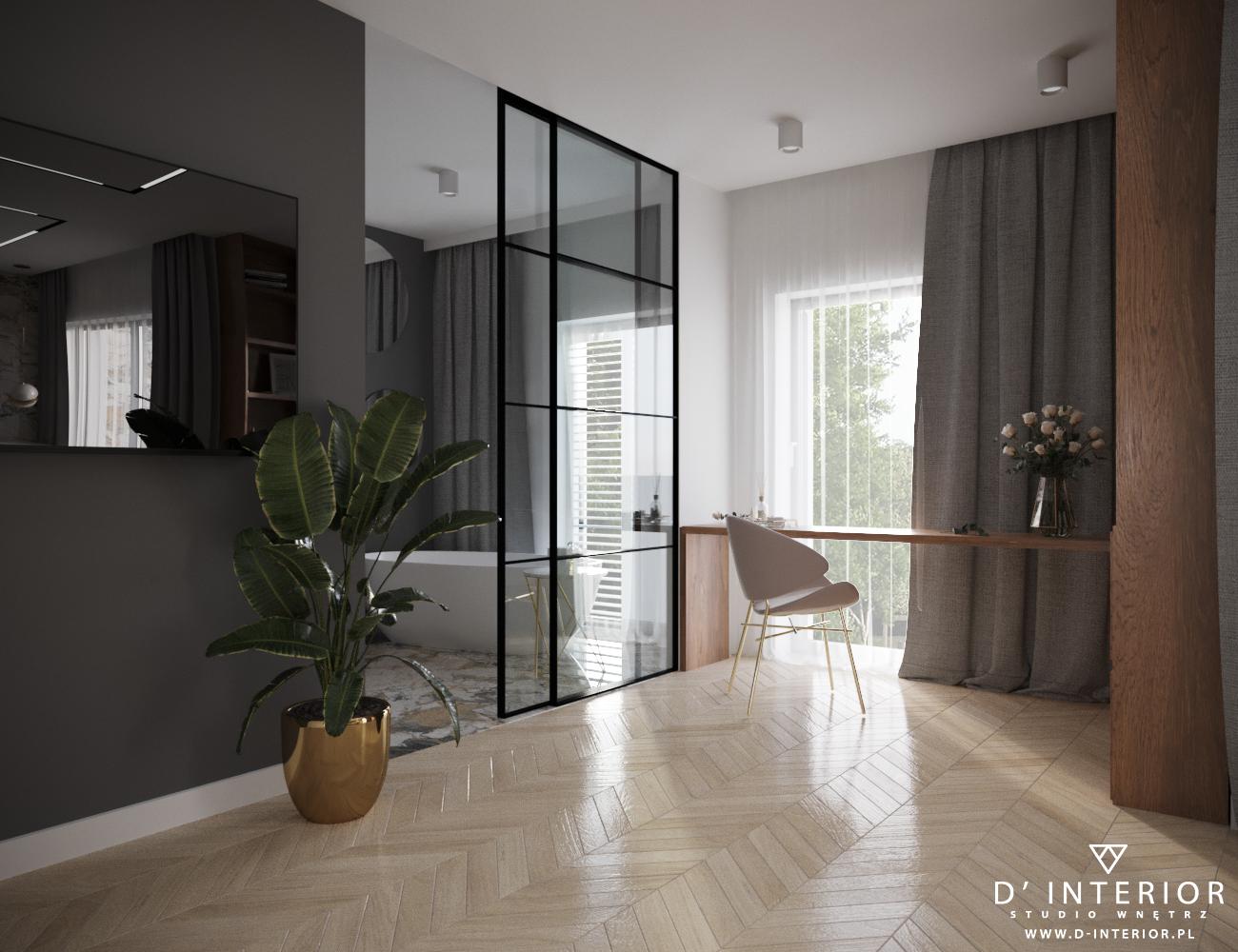 Projekt sypialni w Gdyni