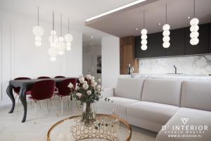 Projekt salonu w Gdańsku
