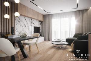 Projekt nowoczesnego mieszkania w Gdyni