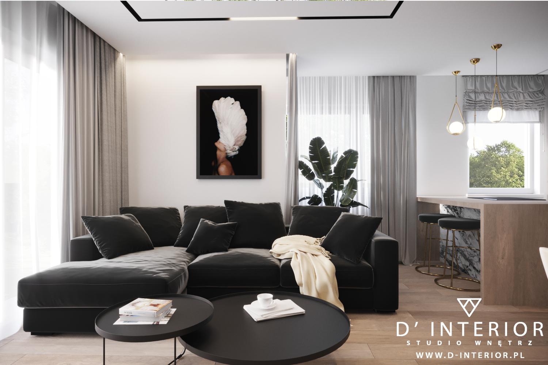 Projekt mieszkania w Gdyni