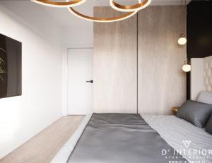 Projekt sypialni Gdynia