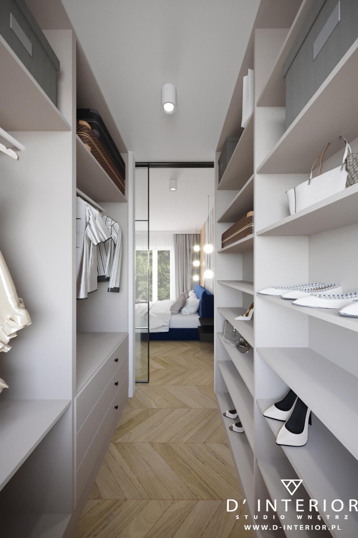 Bezowa garderoba w Gdańsku
