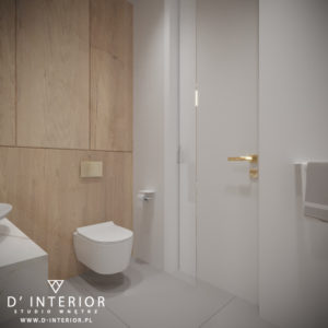 Projekt nowoczesnej łazienki