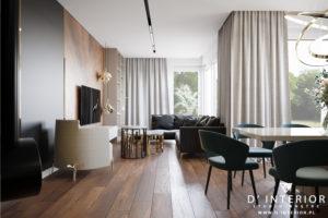 Przytulny salon w Warszawie Bemowo