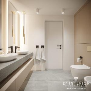 Projekt łazienki Warszawa Bemowo